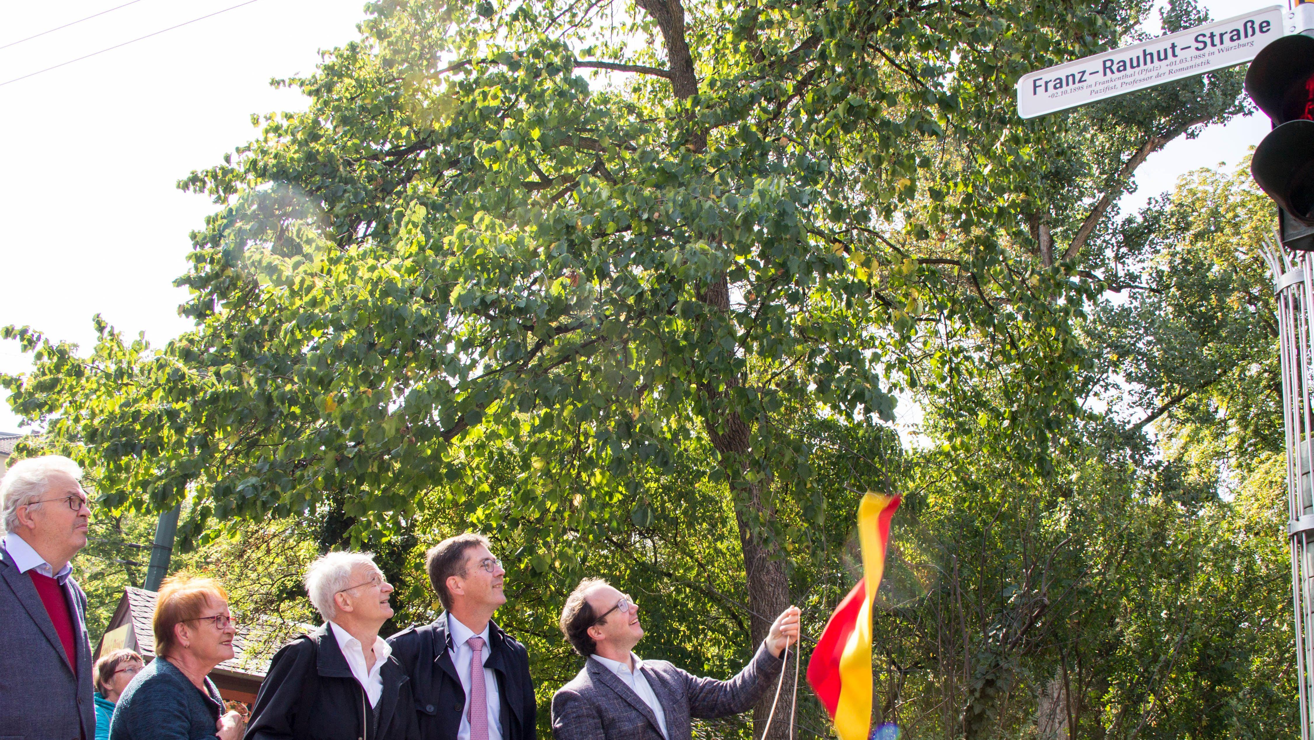 Stadt Würzburg benennt Straße nach Franz Rauhut