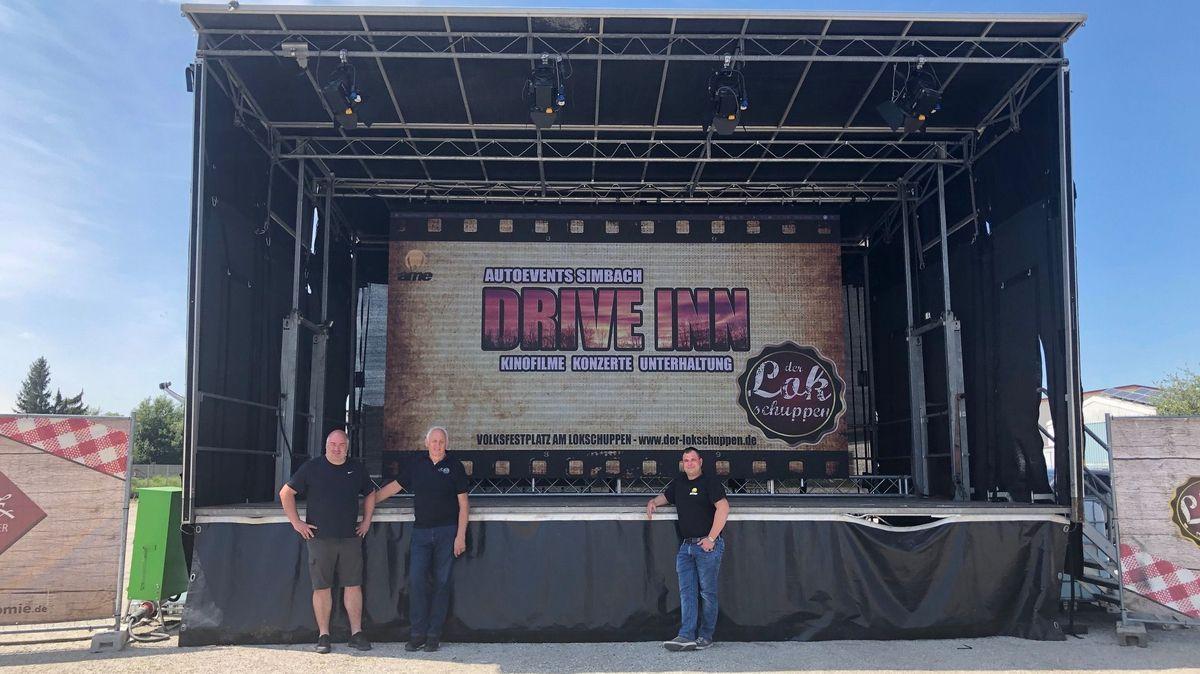 Kinofilme, Konzerte und Unterhaltung soll der Drive Inn in Simbach am Inn bieten