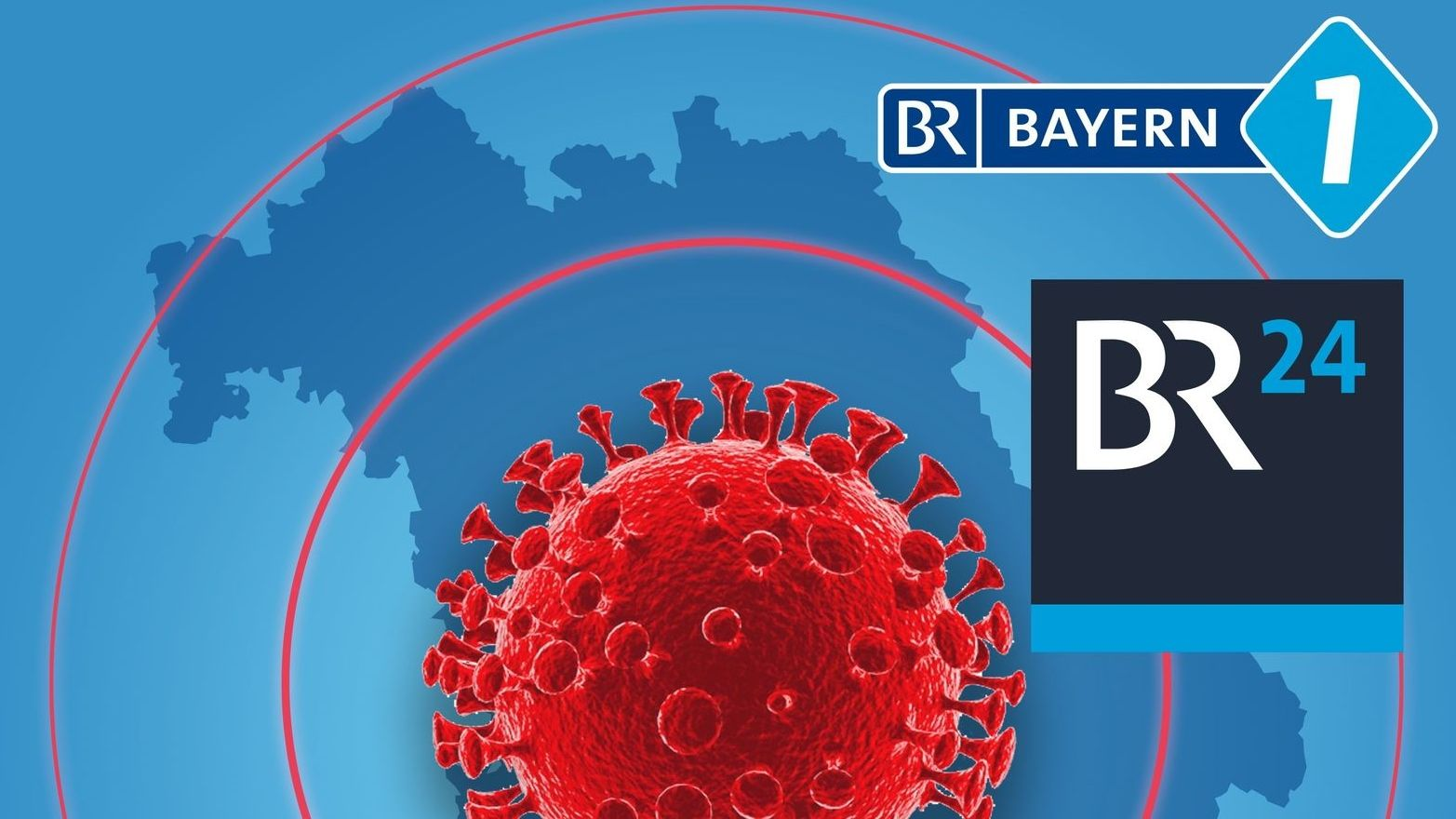 Grafik: Corona-Virus in Bayern