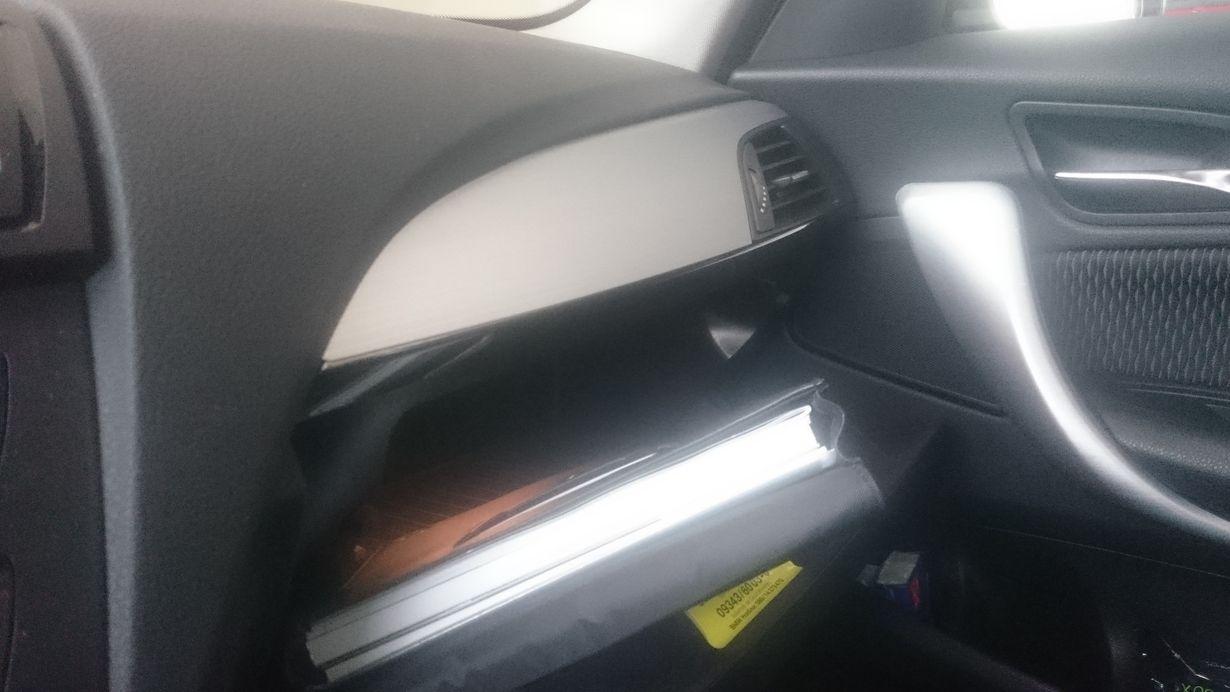 Blick in den Innenraum eines Auto