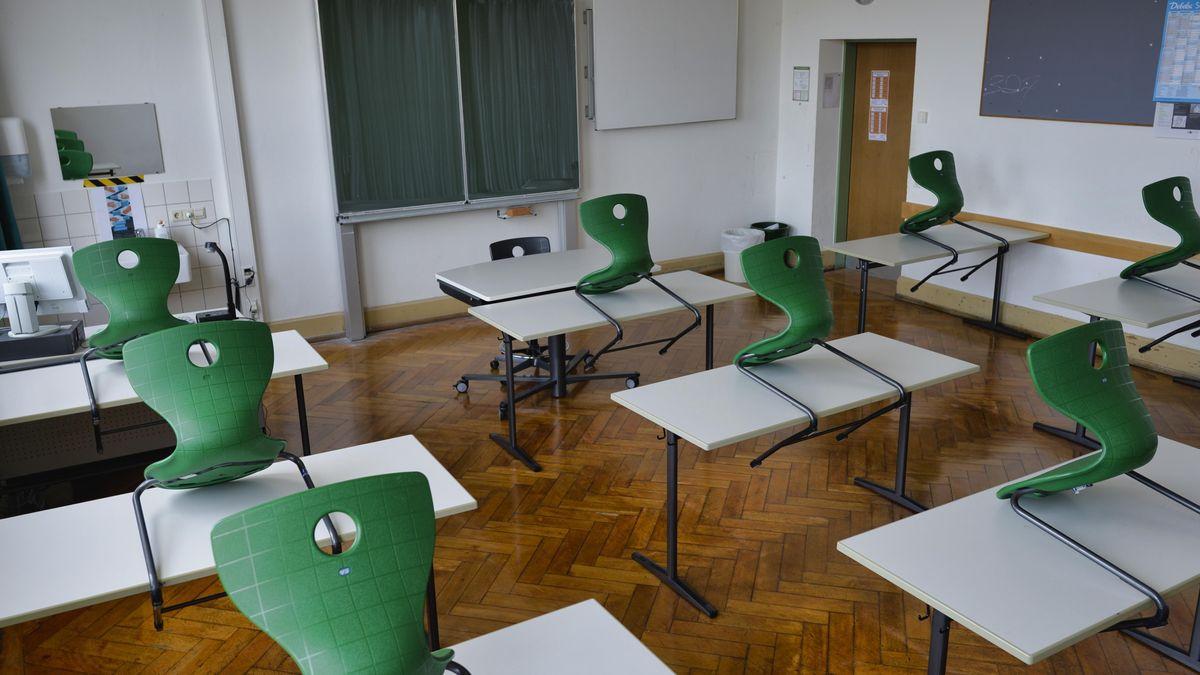 Leeres Klassenzimmer (Symbolfoto)