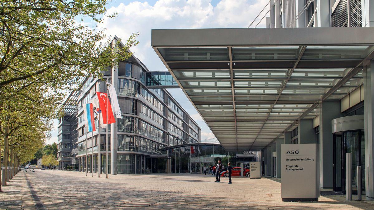 Konzernzentrale der AUDI AG in Ingolstadt