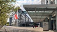 Konzernzentrale der AUDI AG in Ingolstadt   Bild:picture alliance / Daniel Kalker