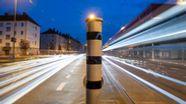 Automatische Blitzeranlage in Nürnberg. | Bild:pa/dpa/Daniel Karmann