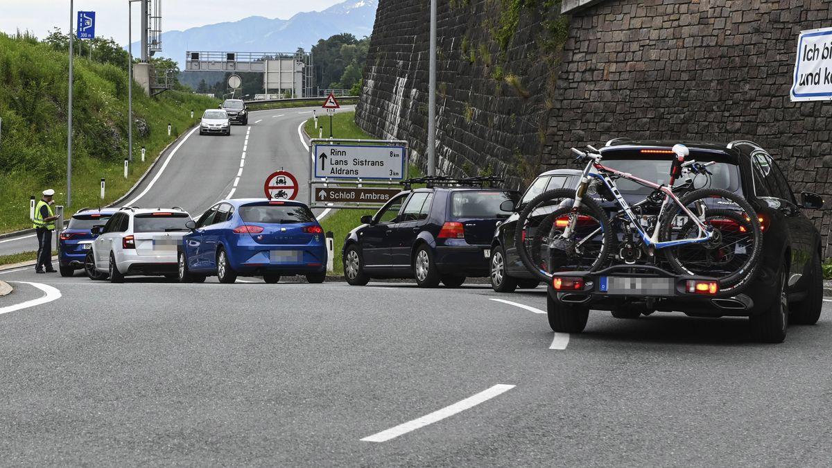 Fahrverbot im Raum Innsbruck