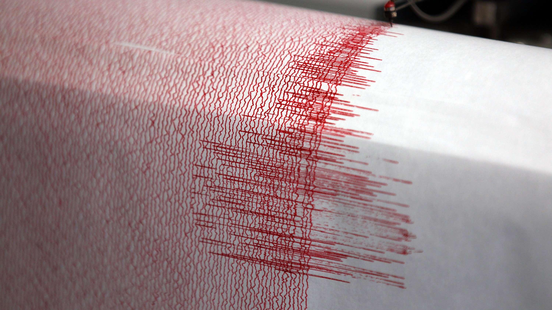 Erdbeben-Seismograph