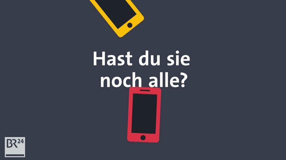 #fragBR24💡 Wohin mit alten Handys? | Bild:Bayerischer Rundfunk