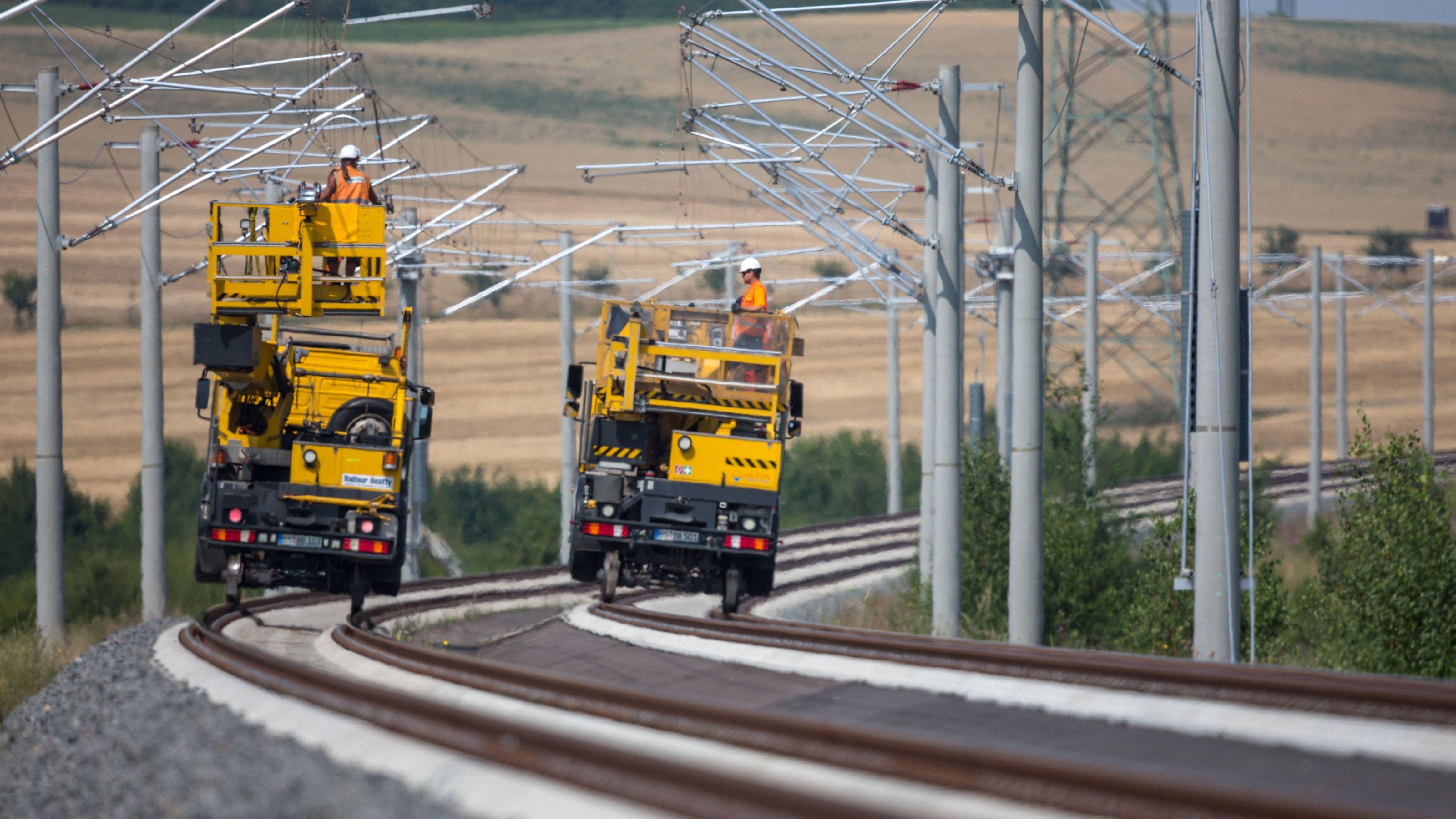 Die Bahnstrecke München-Lindau soll ab 2020 elektrifiziert sein