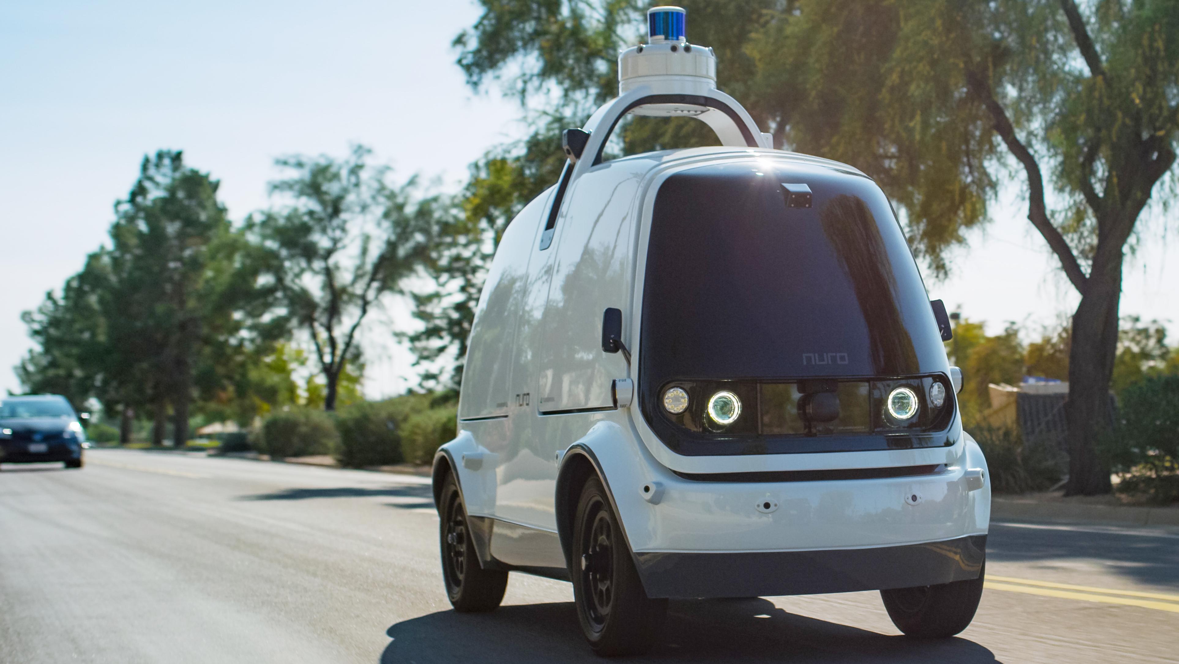 Roboterwagen aus Kalifornien