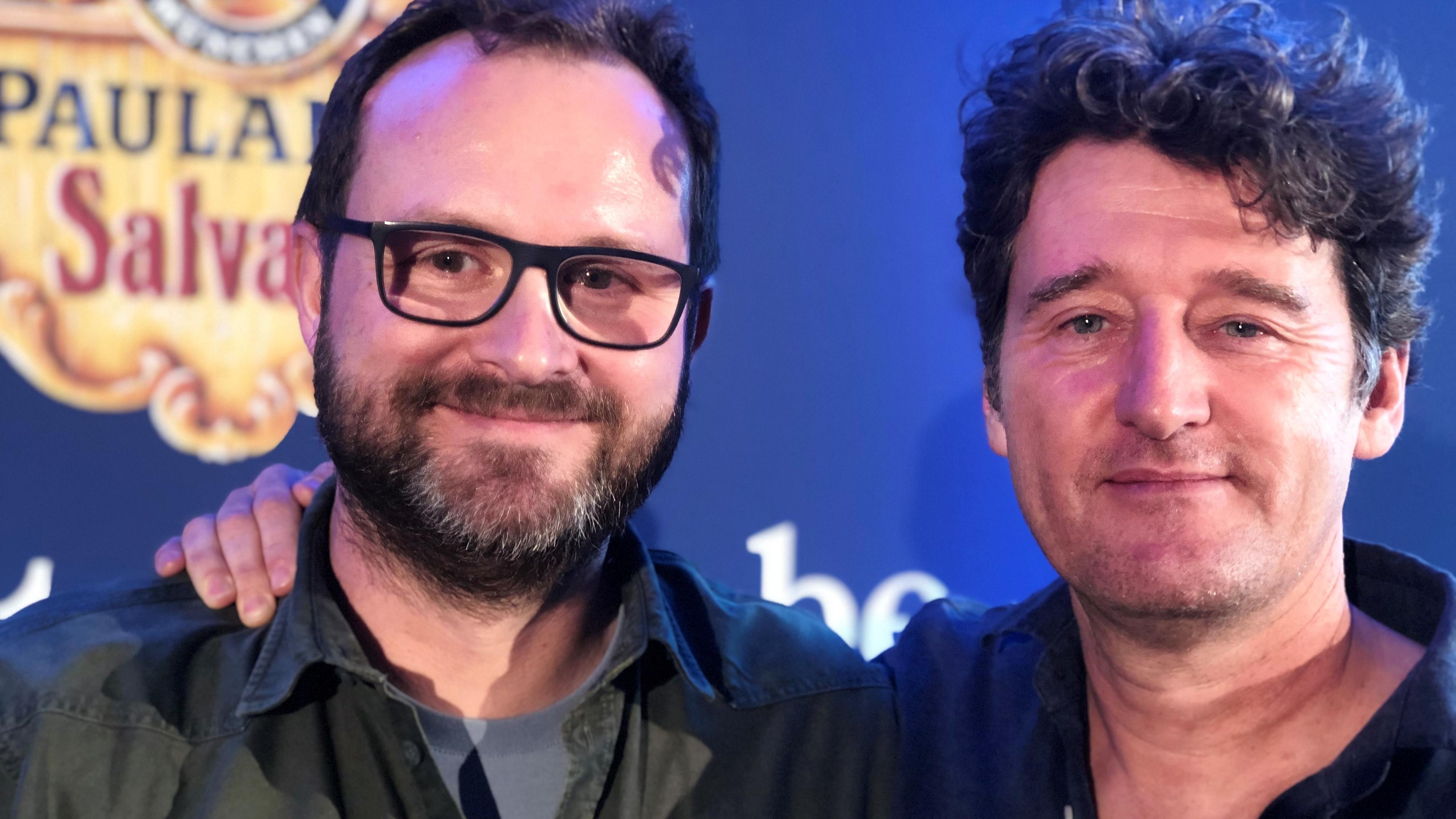 Singspielautoren Richard Oehmann und Stefan Betz