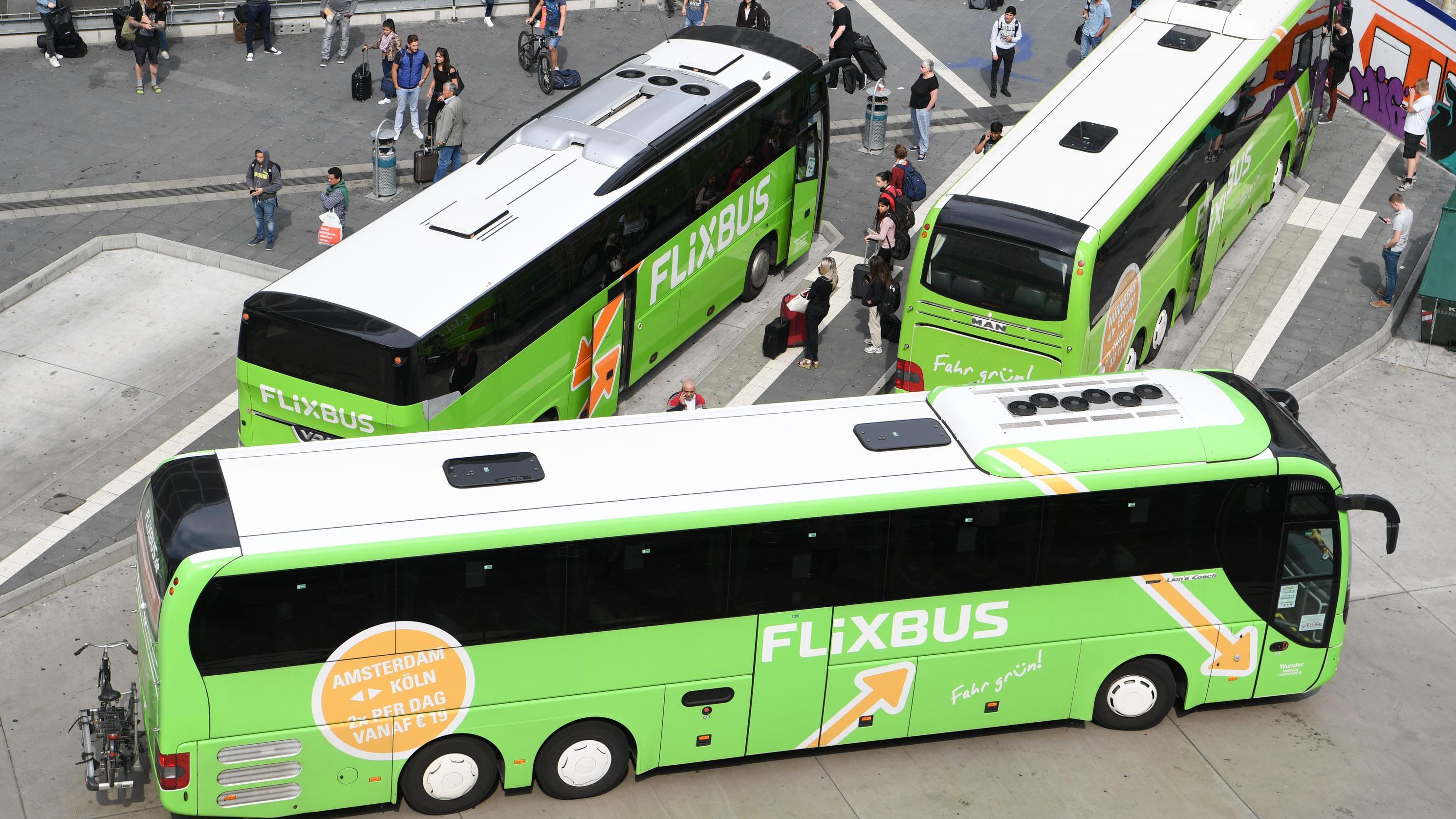Das Fernbusunternehmen Flixbus