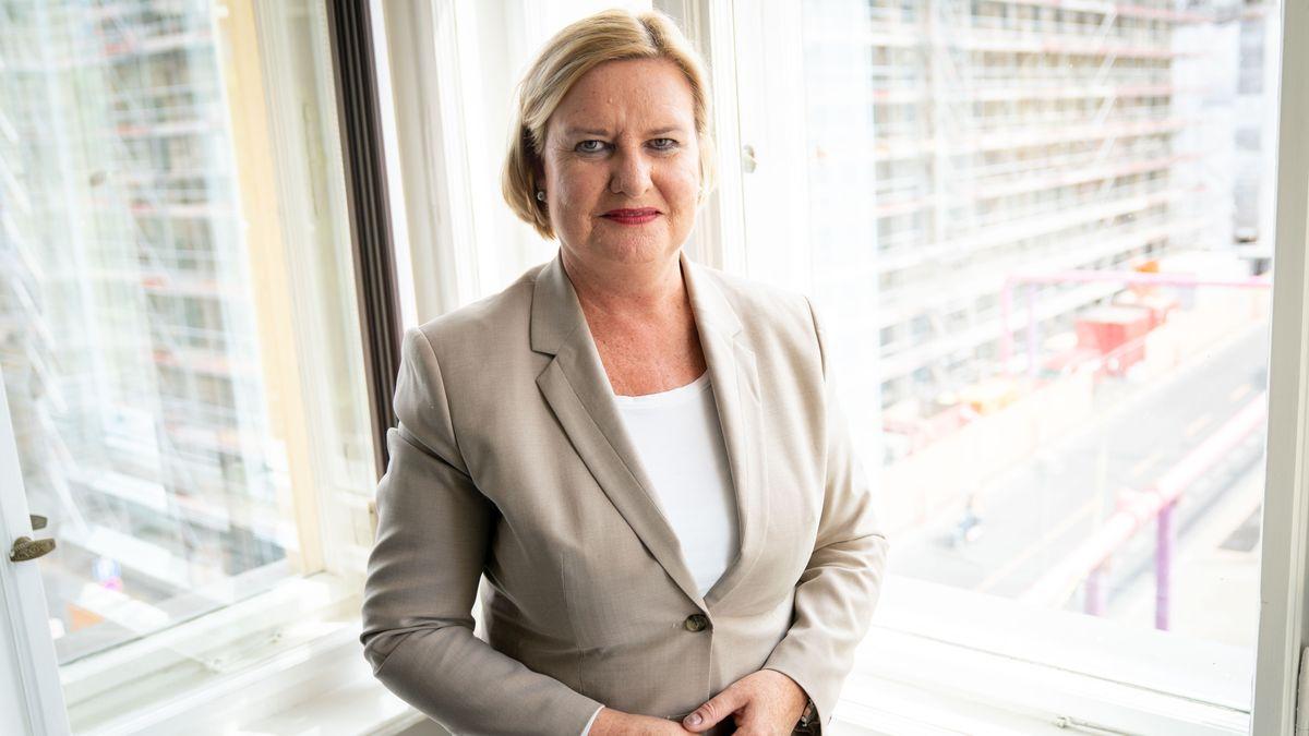 Eva Högl (SPD), Wehrbeauftragte des Deutschen Bundestages, in ihrem Büro in Berlin (Archivbild vom 8.6.20)