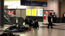 Terror-Übung am Hauptbahnhof in Nürnberg | Bild:BR24 / Andi Ebert