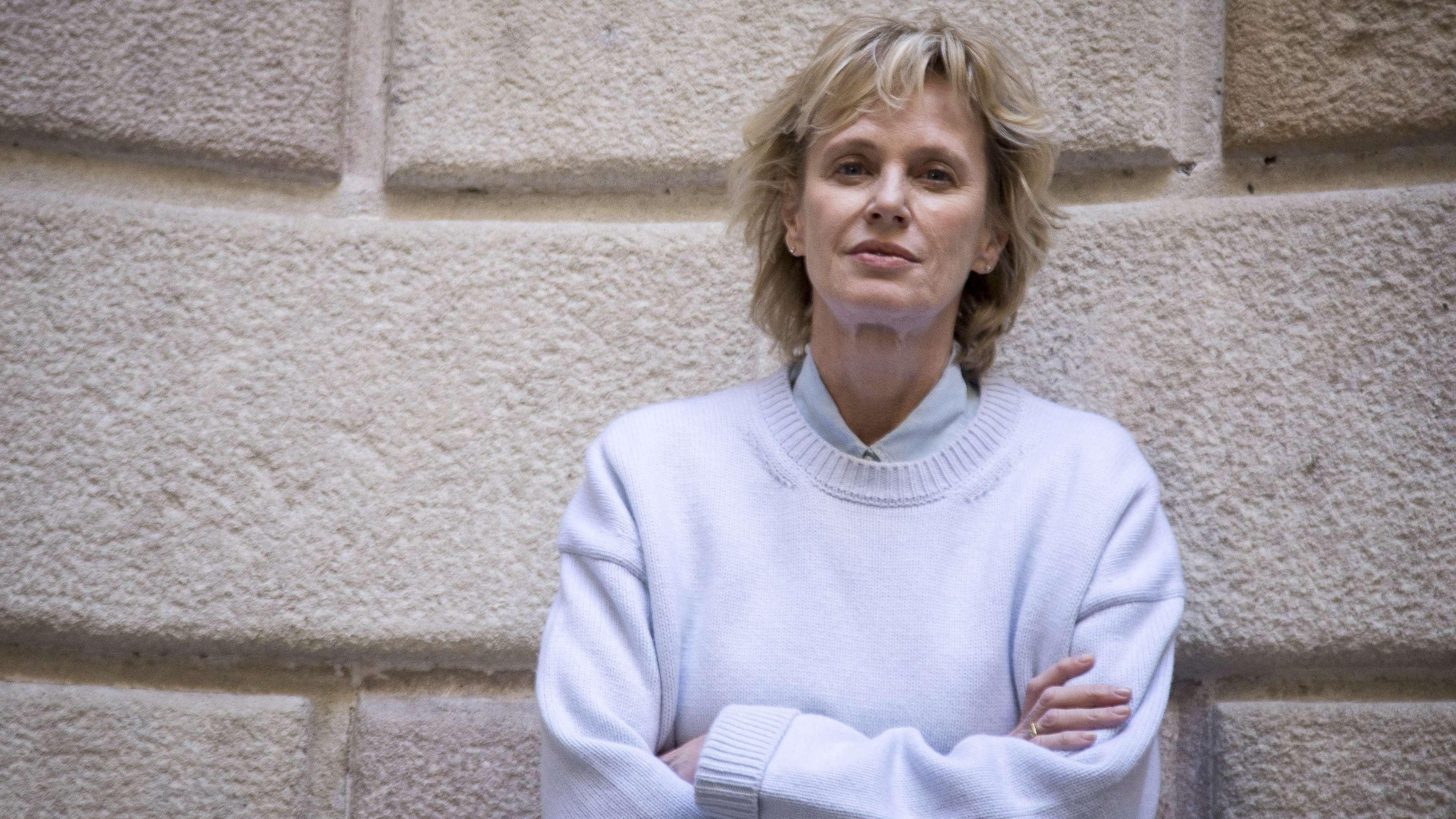 Die US-amerikanische Schriftstellerin Siri Hustvedt