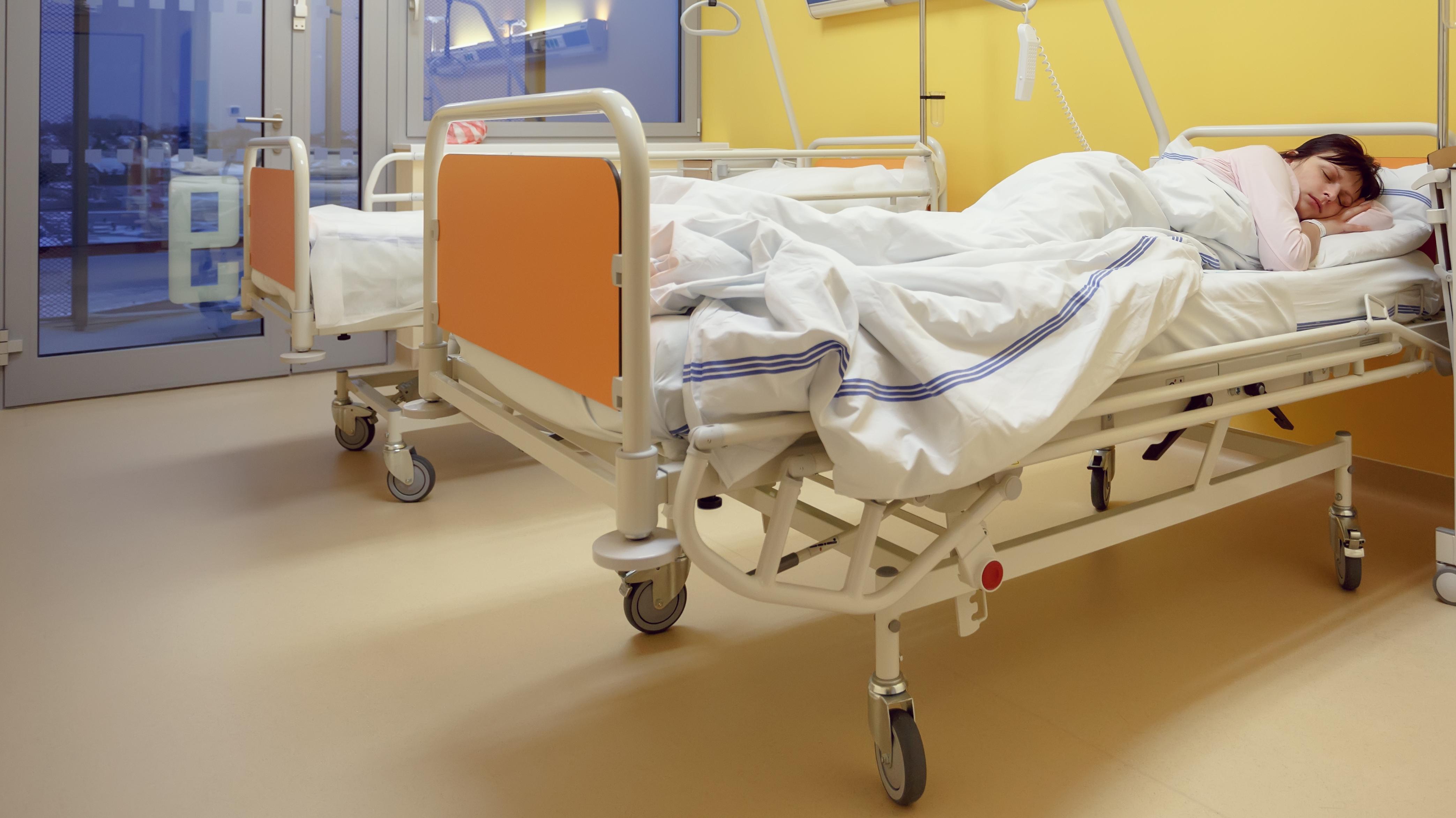 Symbolbild: Krankenhausbetten