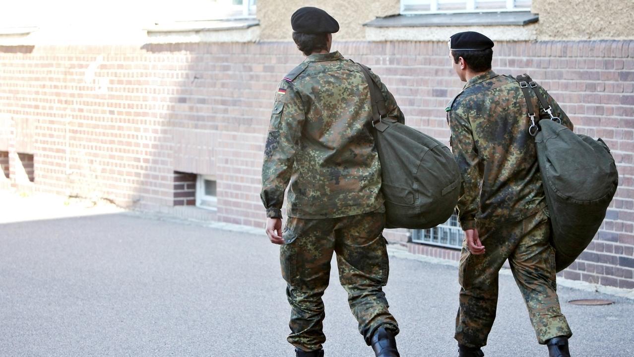 Zwei Bundeswehr-Soldaten