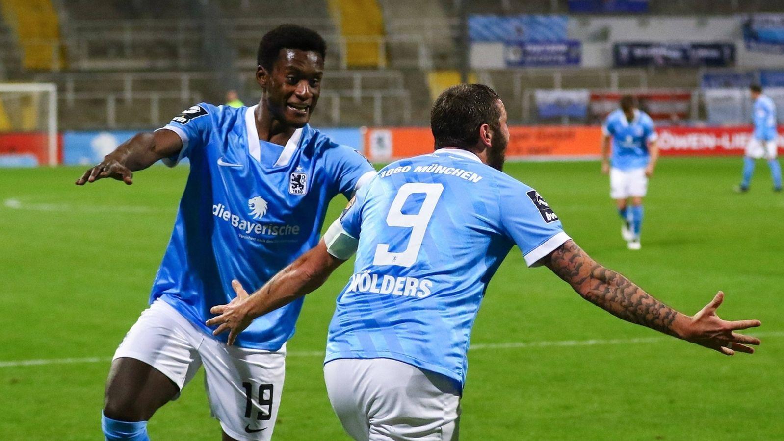 TSV 1860 schießt Unterhaching weiter in den Abgrund - BR24