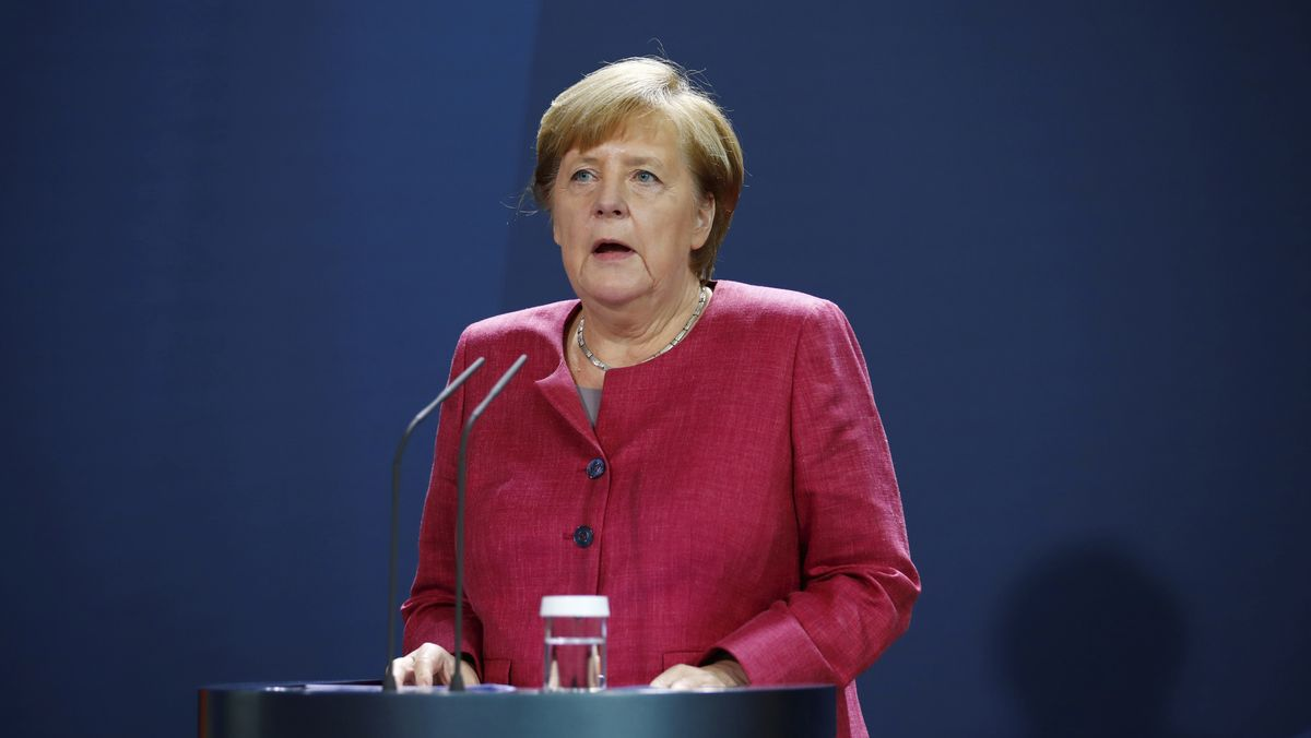 Kanzlerin Merkel.