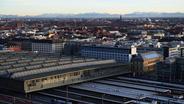Bahnhof München und angrenzende Wohnviertel   Bild:BR/ Foto: Felix Hörhager