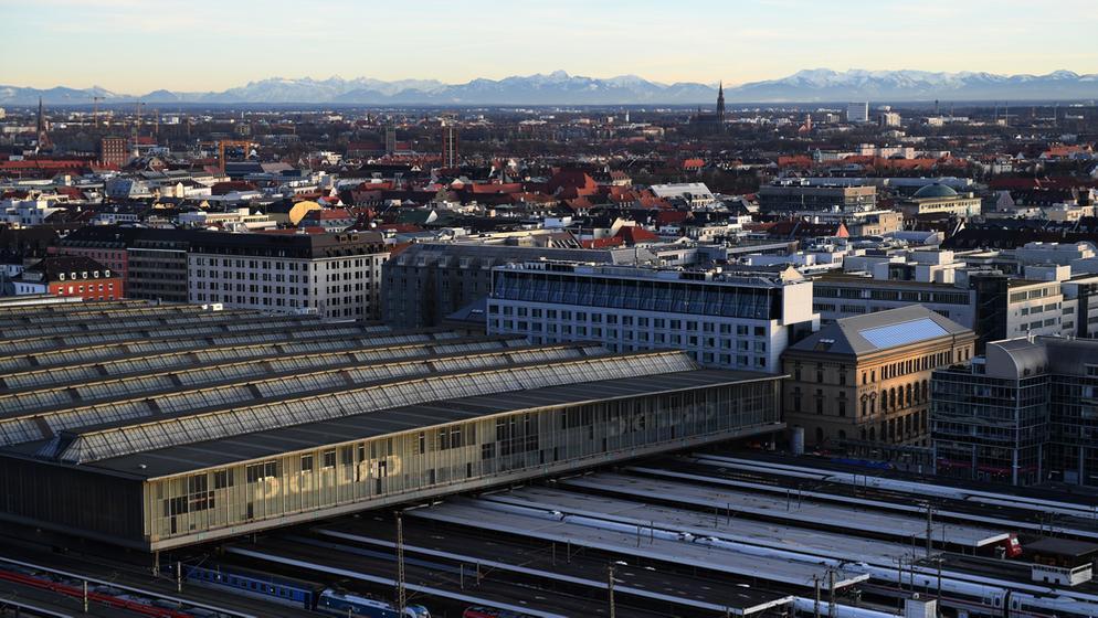 Bahnhof München und angrenzende Wohnviertel | Bild:BR/ Foto: Felix Hörhager
