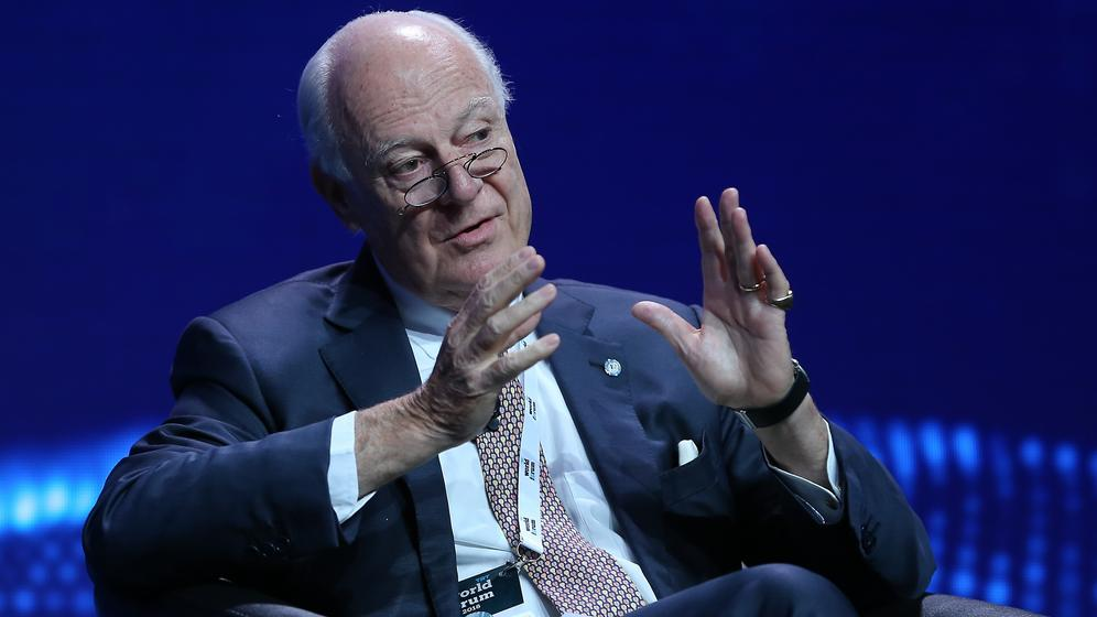 Staffan di Mistura | Bild:picture alliance