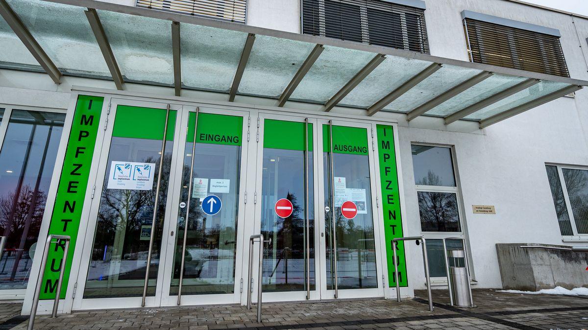 Das Impfzentrum in Straubing