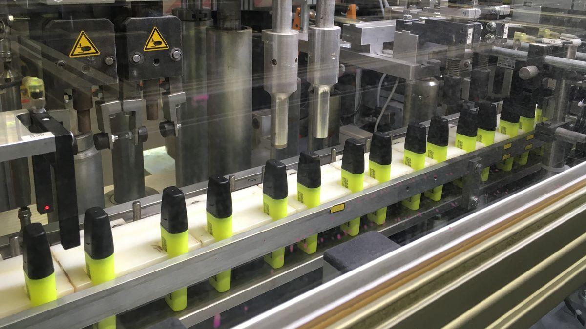 Produktion des Kult-Textmarkers Stabilo Boss in Weißenburg