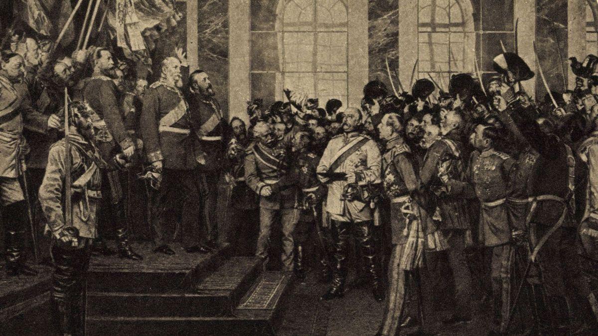Kaiserproklamation zu Versailles