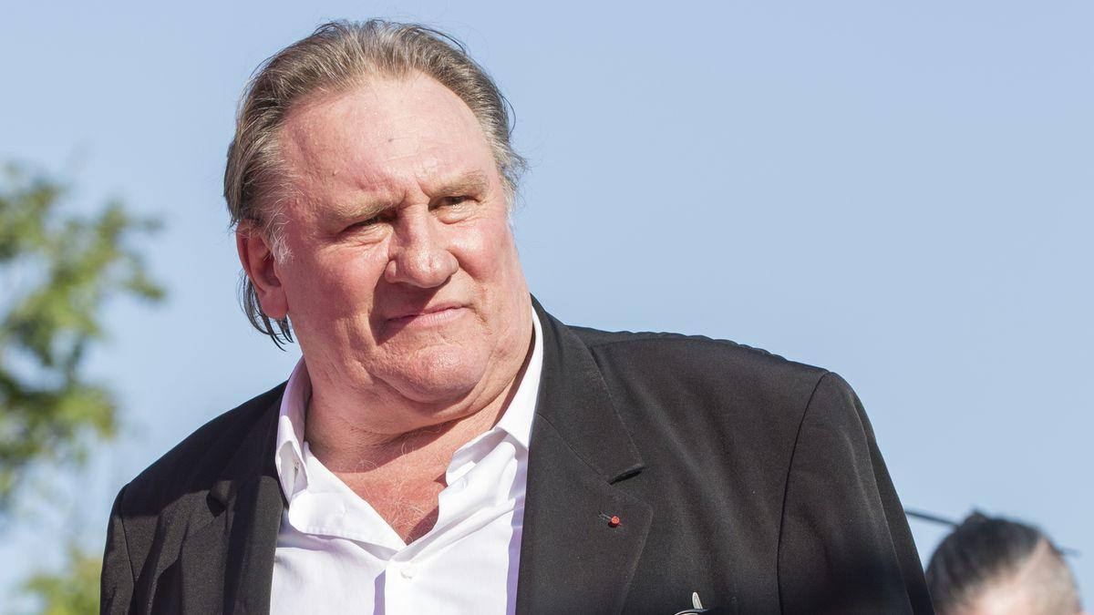 Porträt des Schauspielers Gérard Depardieu