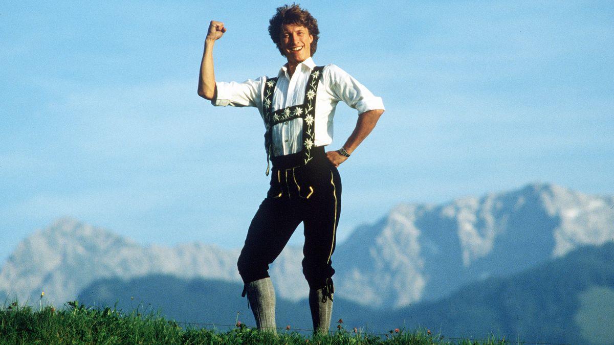 Norbert Schramm in den Allgäuer Bergen
