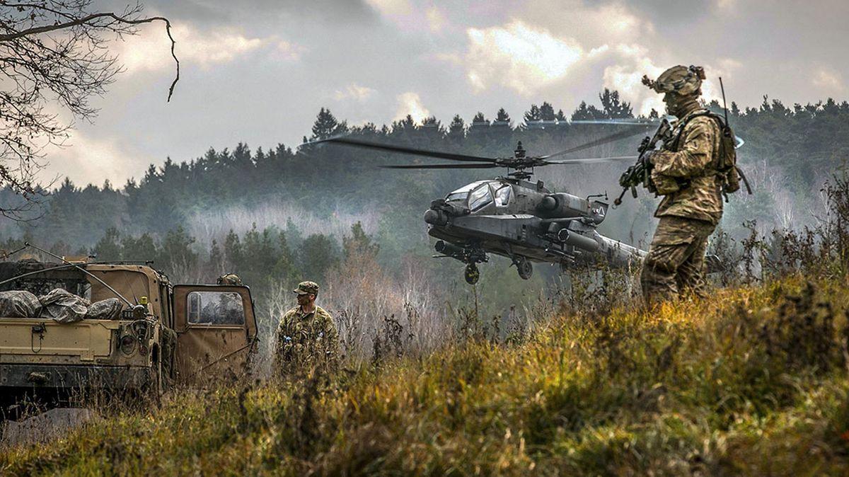 US-Übung am Standort Grafenwöhr