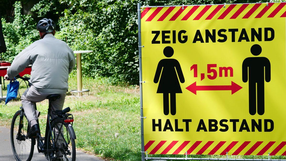 Der R-Wert in Deutschland liegt mit 1,17 über dem kritischen Wert von 1