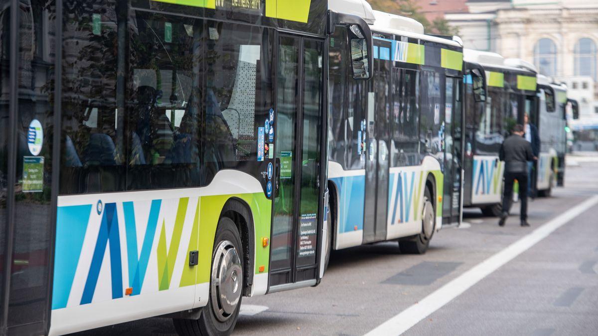 Busse in Augsburg