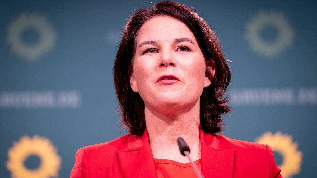Annalena Baerbock, Parteichefin und Kanzlerkandidatin der Grünen