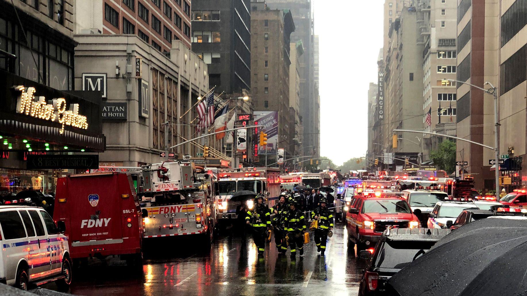Hubschrauberabsturz in New York:Pilot hatte sich verirrt