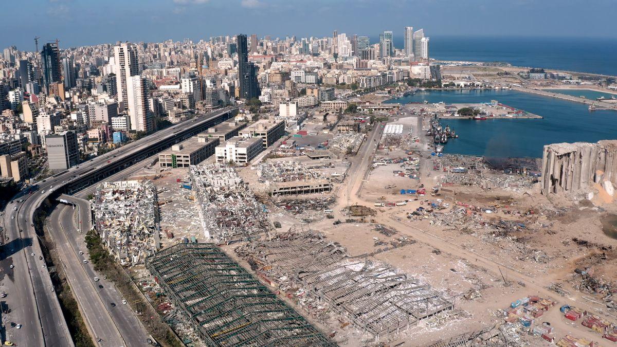 Beirut nach der Explosion: Drohnenvideo zeigt Zerstörung