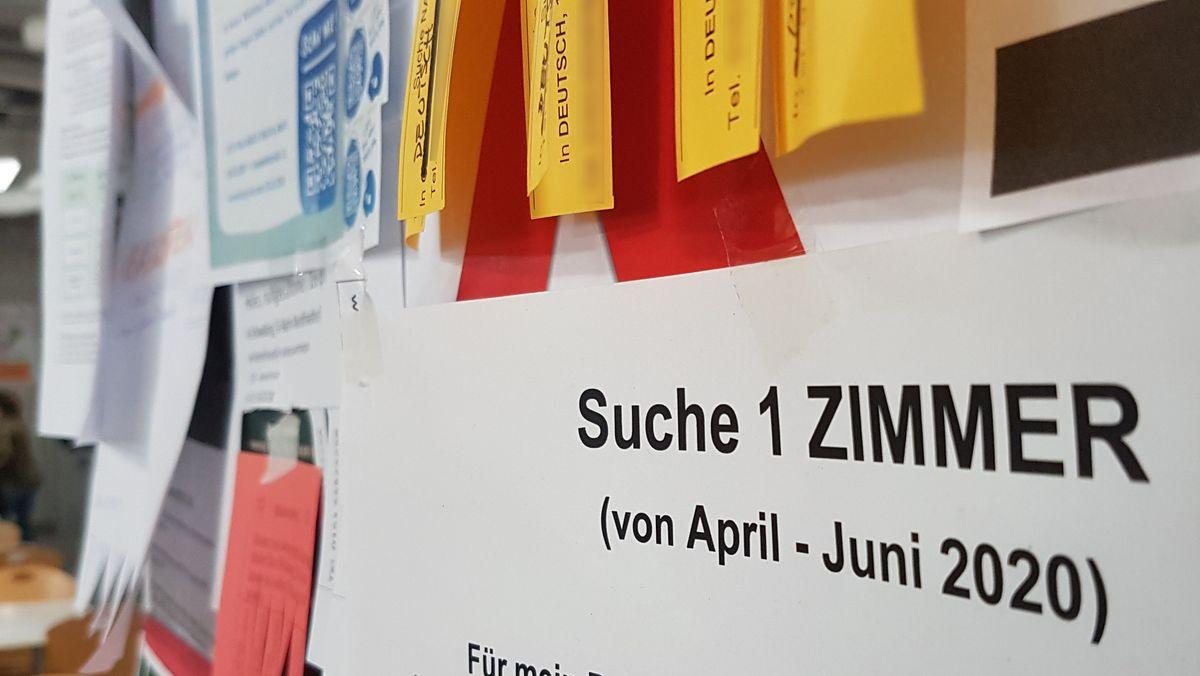 In München gibt es lange Wartelisten für Studierende, die einen günstigen Wohnheimplatz ergattern wollen.