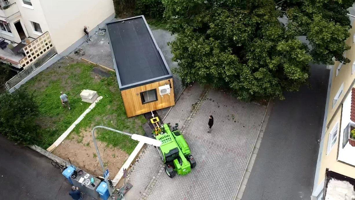 Weidens erstes Tiny-House