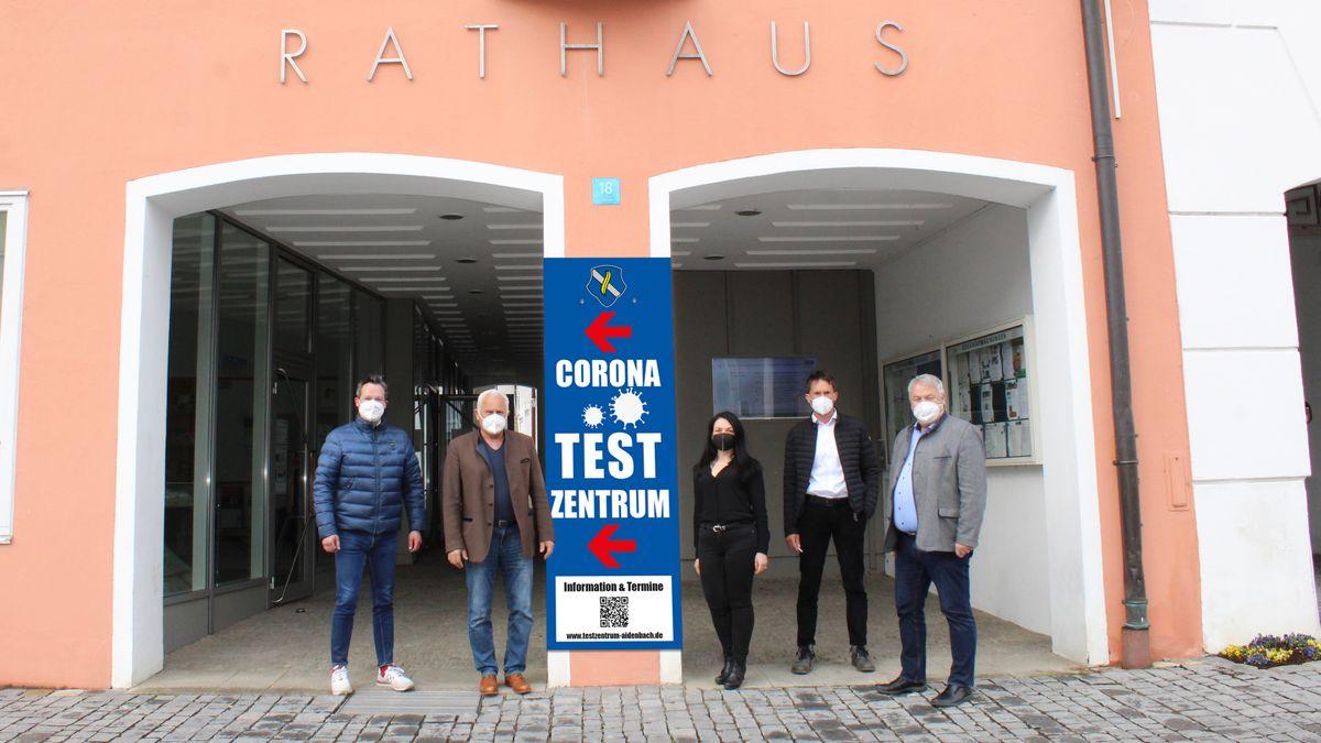 Neues Testzentrum für Aldersbach und Aidenbach