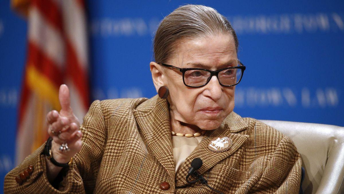 Richterin um obersten Gerichtshof der USA: Ruth Bader Ginsburg.