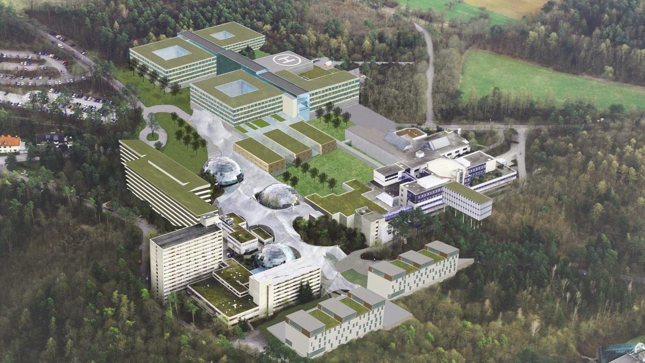 Neubau des Rhön-Klinikums in Bad Neustadt