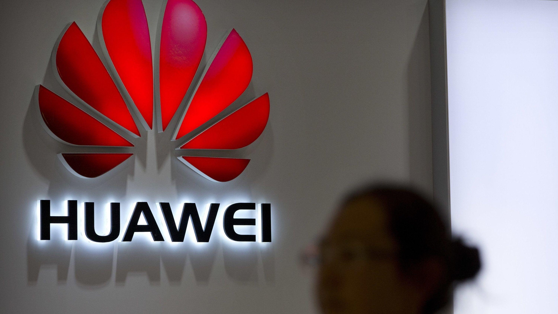 Logo eines Huawei-Ladens: Bundeswirtschaftsminister Altmaier traf Huawei-Gründer Ren Zhengfei