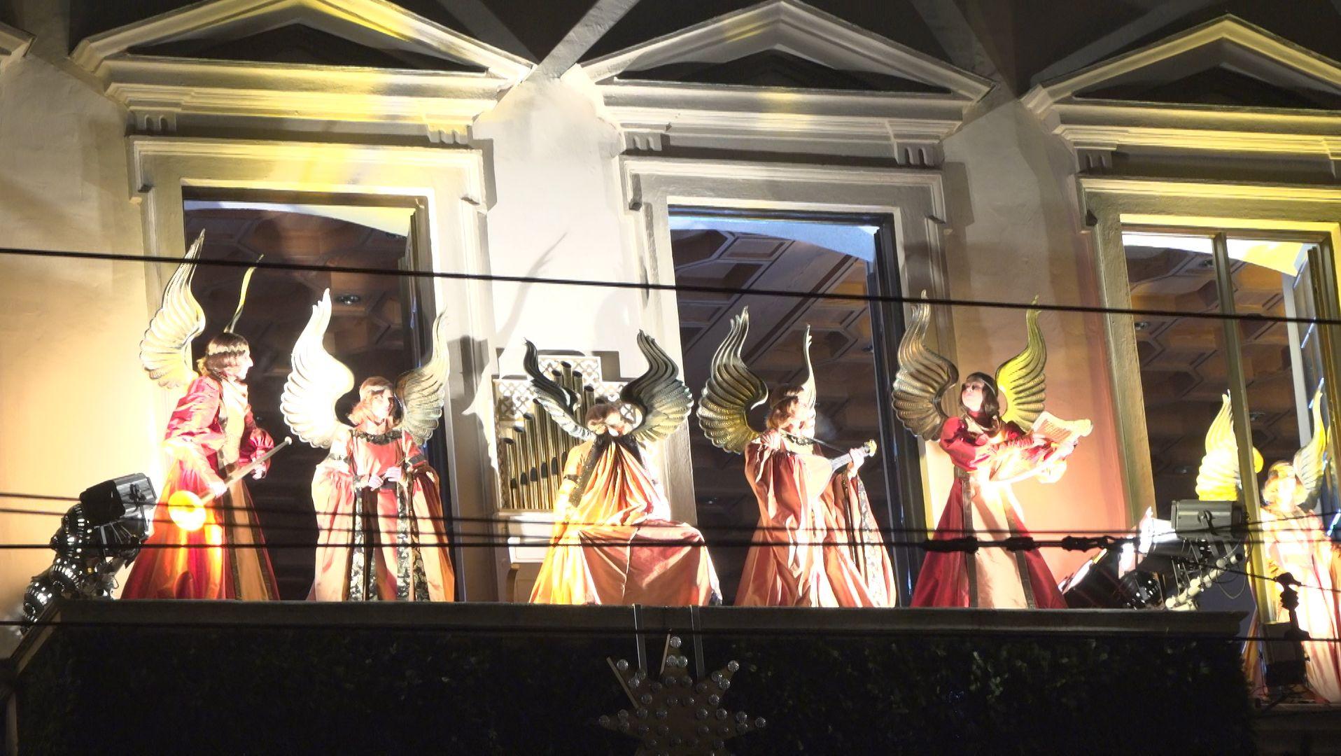 Das Engelesspiel zur Eröffnung des Augsburger Christkindlesmarktes