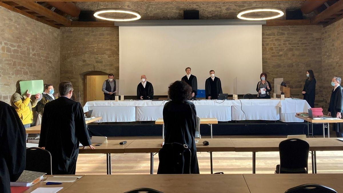 Prozess gegen einen 31-Jährigen in Würzburg