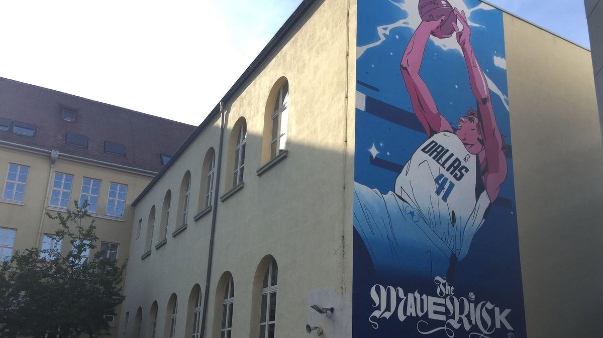 Nowitzki-Graffitto