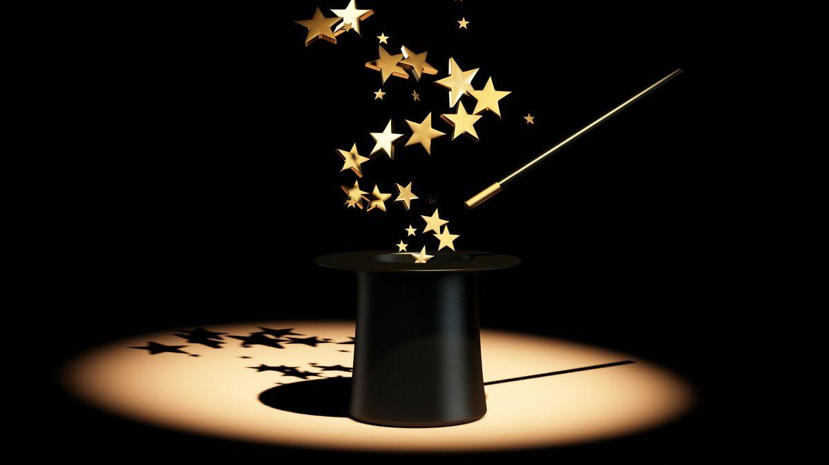Sterne aus Zaubererhut