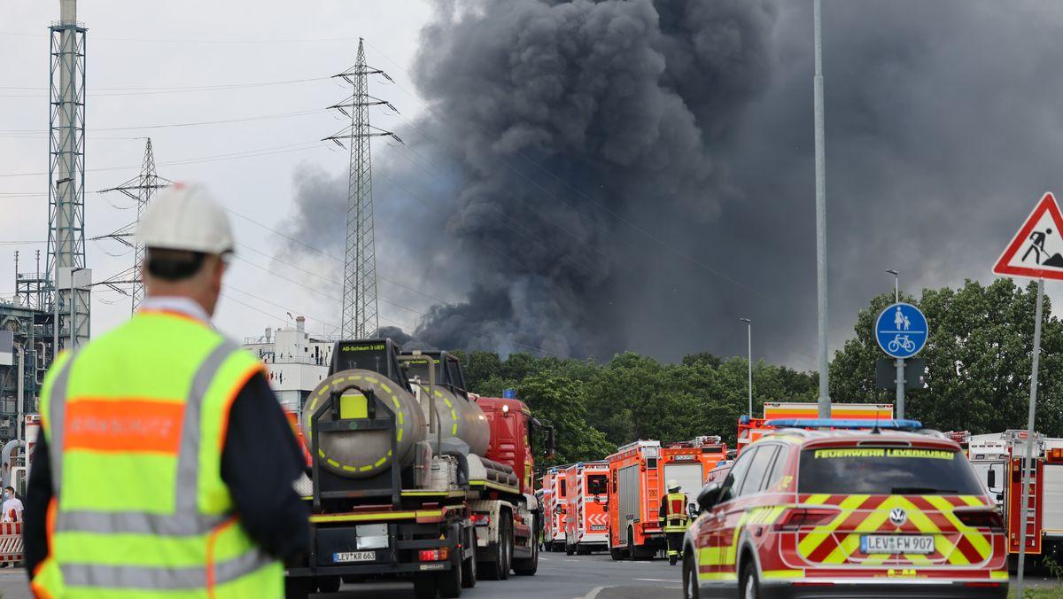 Explosion im Leverkusener Chempark am 27. Juli
