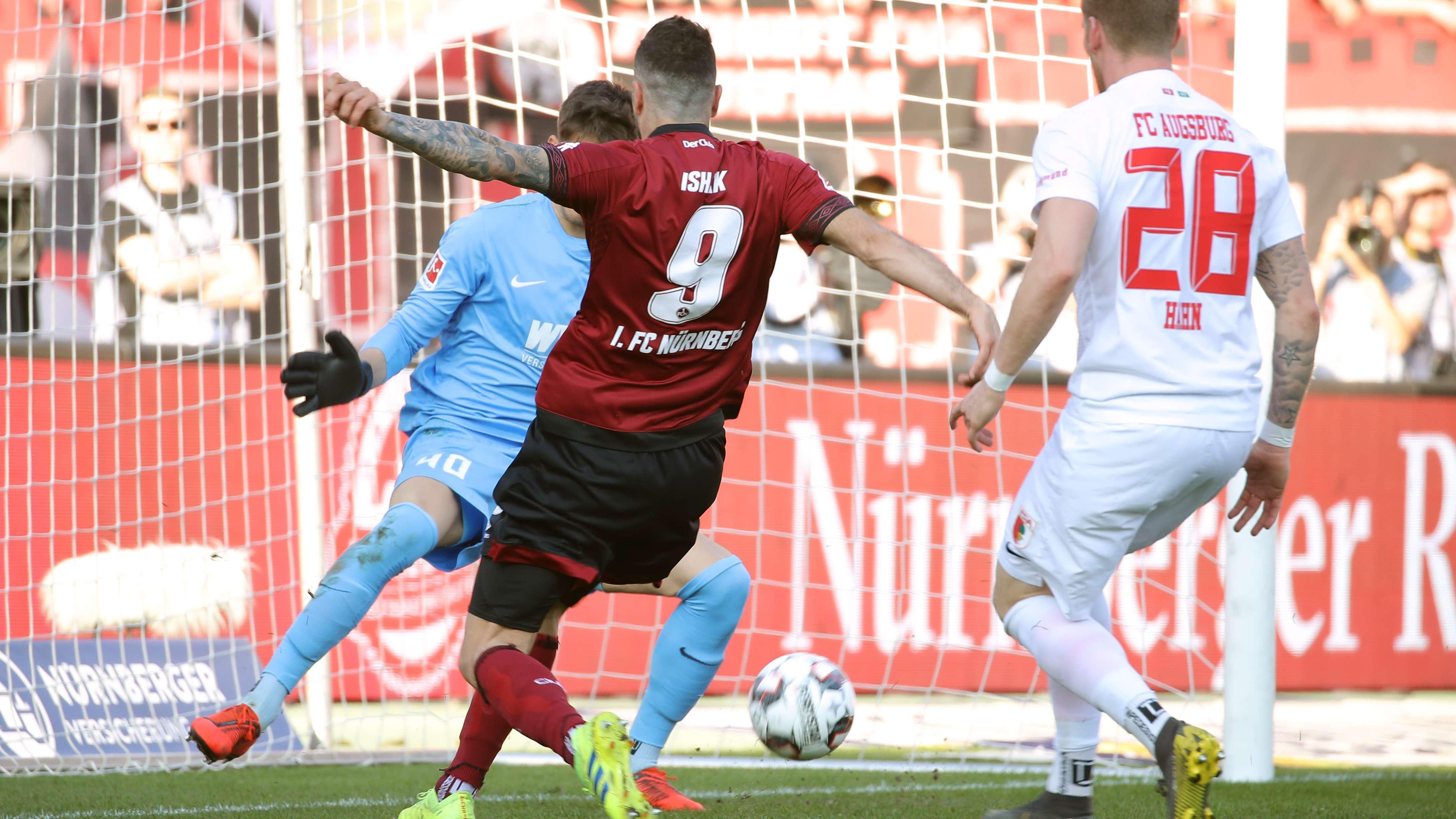 Mikael Ishak trifft zum 1:0