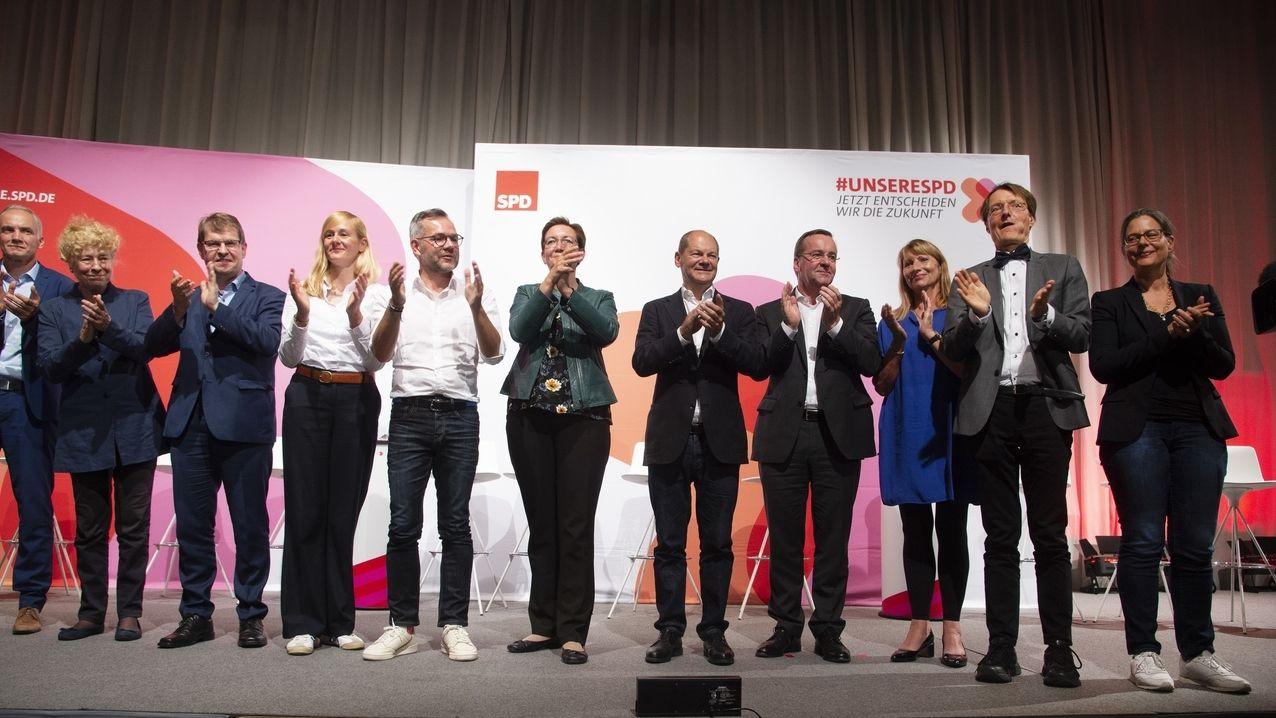 SPD Regionalkonferenz in Saarbrücken