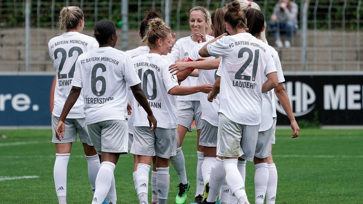 Spielerinnen des FC Bayern München